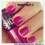Maybelline Color Show Nail Polish – Berry Sexy !! Review and NOTD
