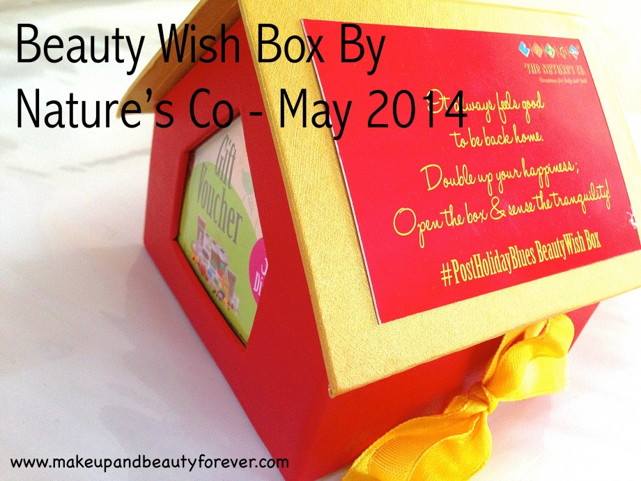 Beauty Wish Box by The Nature's Co. - May 2014
