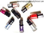 All Maybelline Color Show Glitter Mania Nail Polish Haul