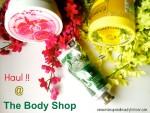 The Body Shop Haul
