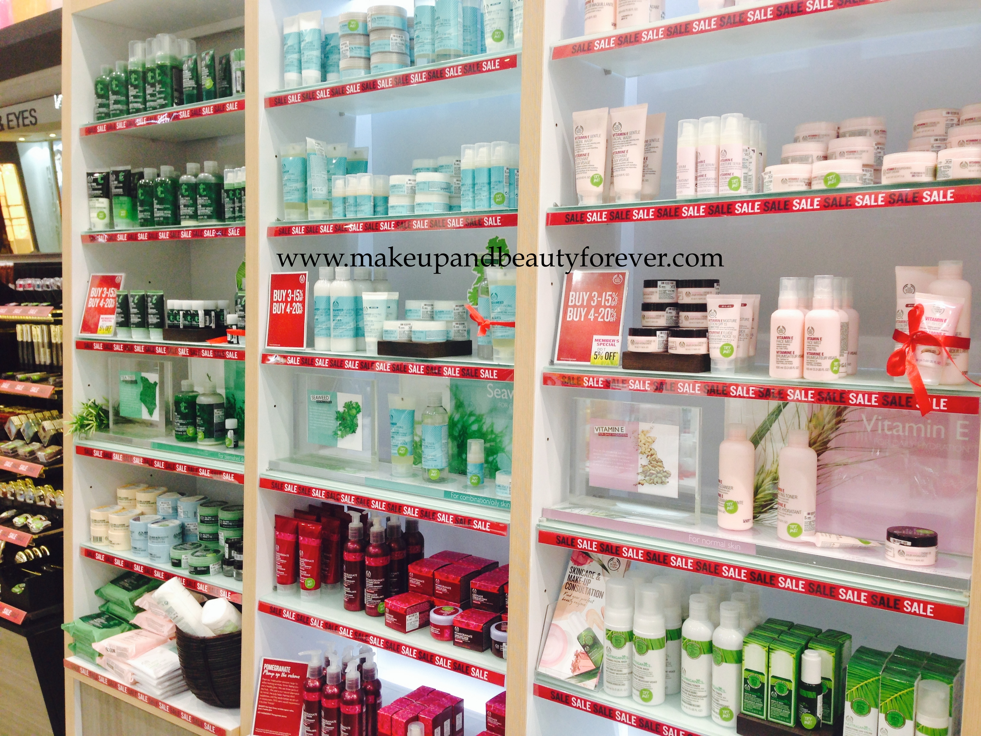 The Body Shop Store at The Forum Fiza mall -Review and My