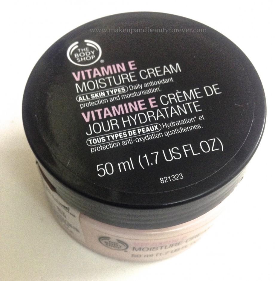 Body Shop Drop Of Light Eye Cream Review: The Body Shop Vitamin E Moisture Cream Review