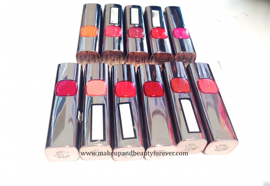 All LOreal Paris Color Riche Moist Matte Lipstick Review, Shades, Swatches, Price and Details