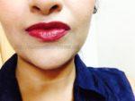 Colorbar Velvet Matte Lipstick – Passion Shade No. 5 Review, Swatches , POTDs
