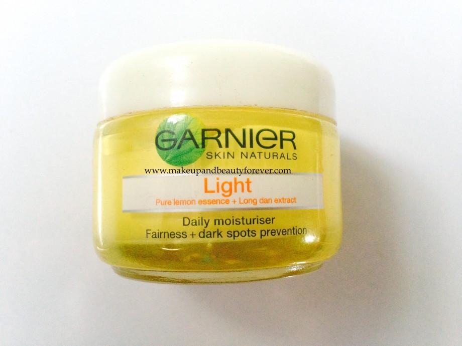 Garnier Skin Naturals Pure Daily Moisturiser Ingredients
