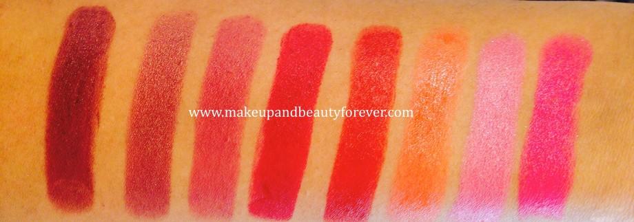 Lakme Absolute Matte Lip Colour Classic Rose 47 Lakme Absolute Matte Lip Colour Orange Burst 217 Lakme Absolute Matte Lip Colour Pink Brick 212 Lakme Absolute Matte Lip Colour Le Fuscia 213