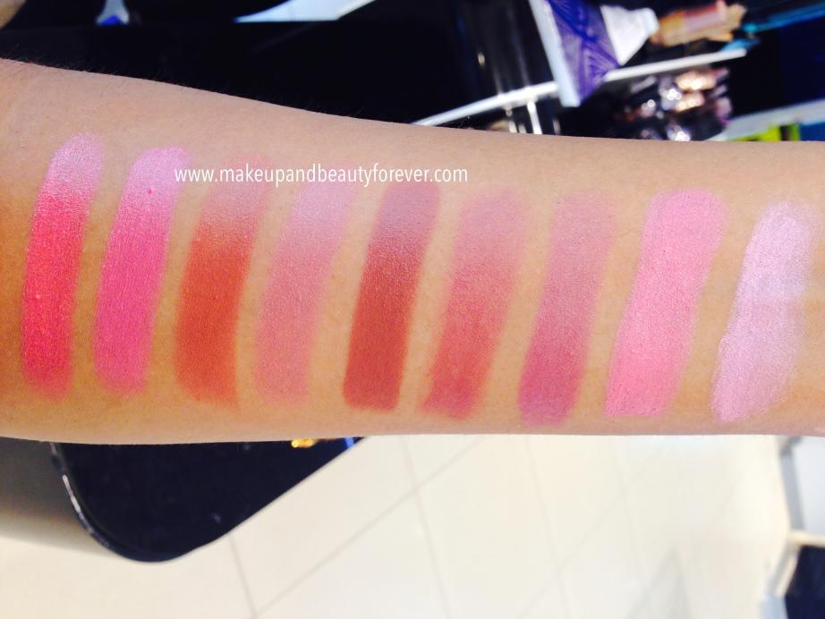 Lakme 9 To 5 Matte Lipstick Lip Color Review Shades