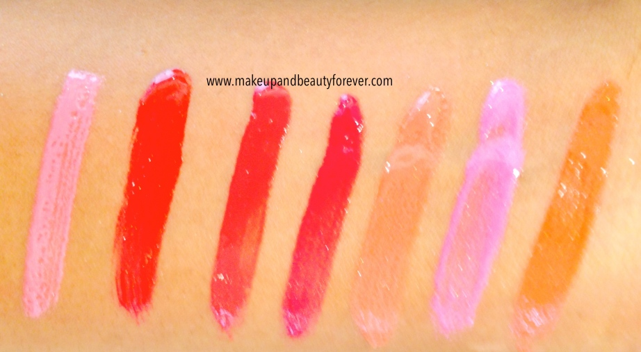All Lakme Absolute Gloss Stylist Lip Gloss Review Shades Swatches Price Details