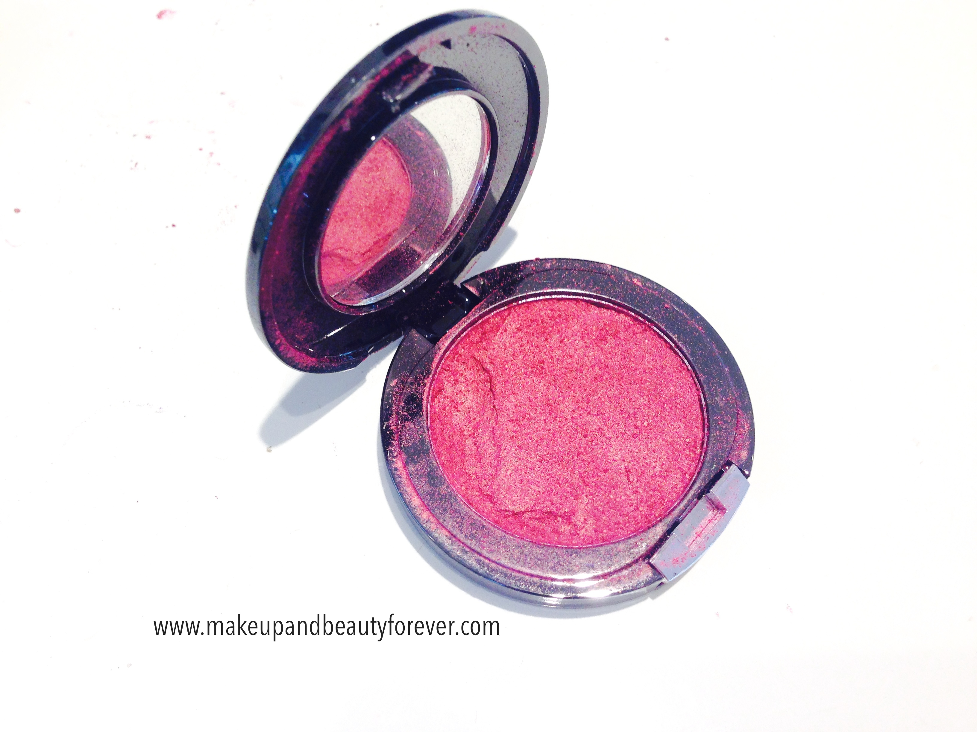Faces Canada Glam On Powder Blush Crimson 4 Review