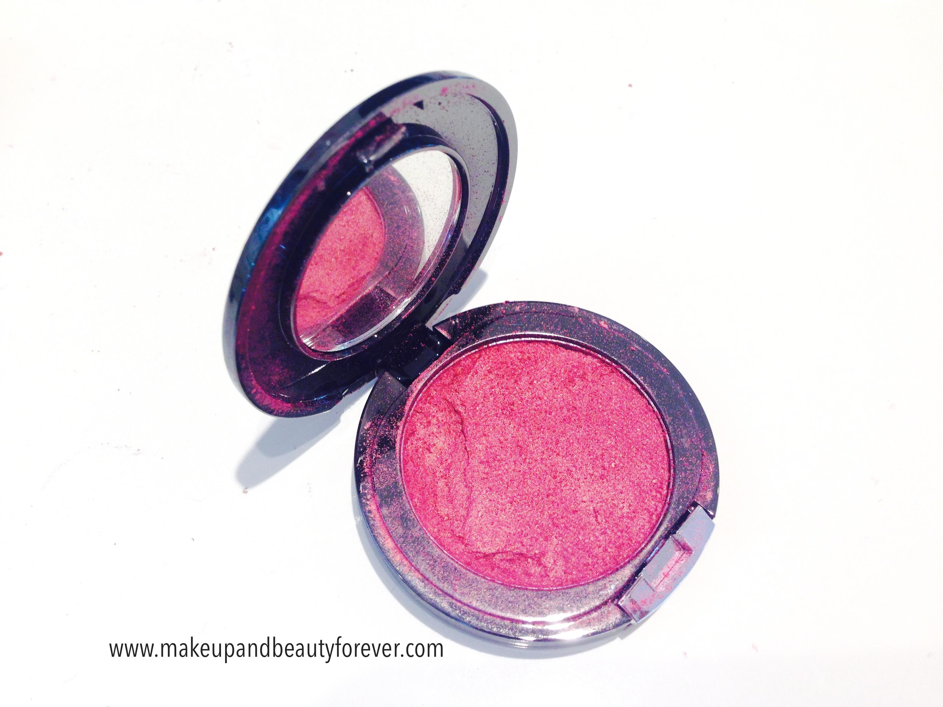 Faces Canada Glam On Powder Blush Crimson 4 Review shades