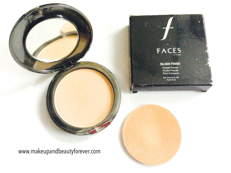 Faces Canada Silken Finish Pressed Powder Beige 3 Review mbf