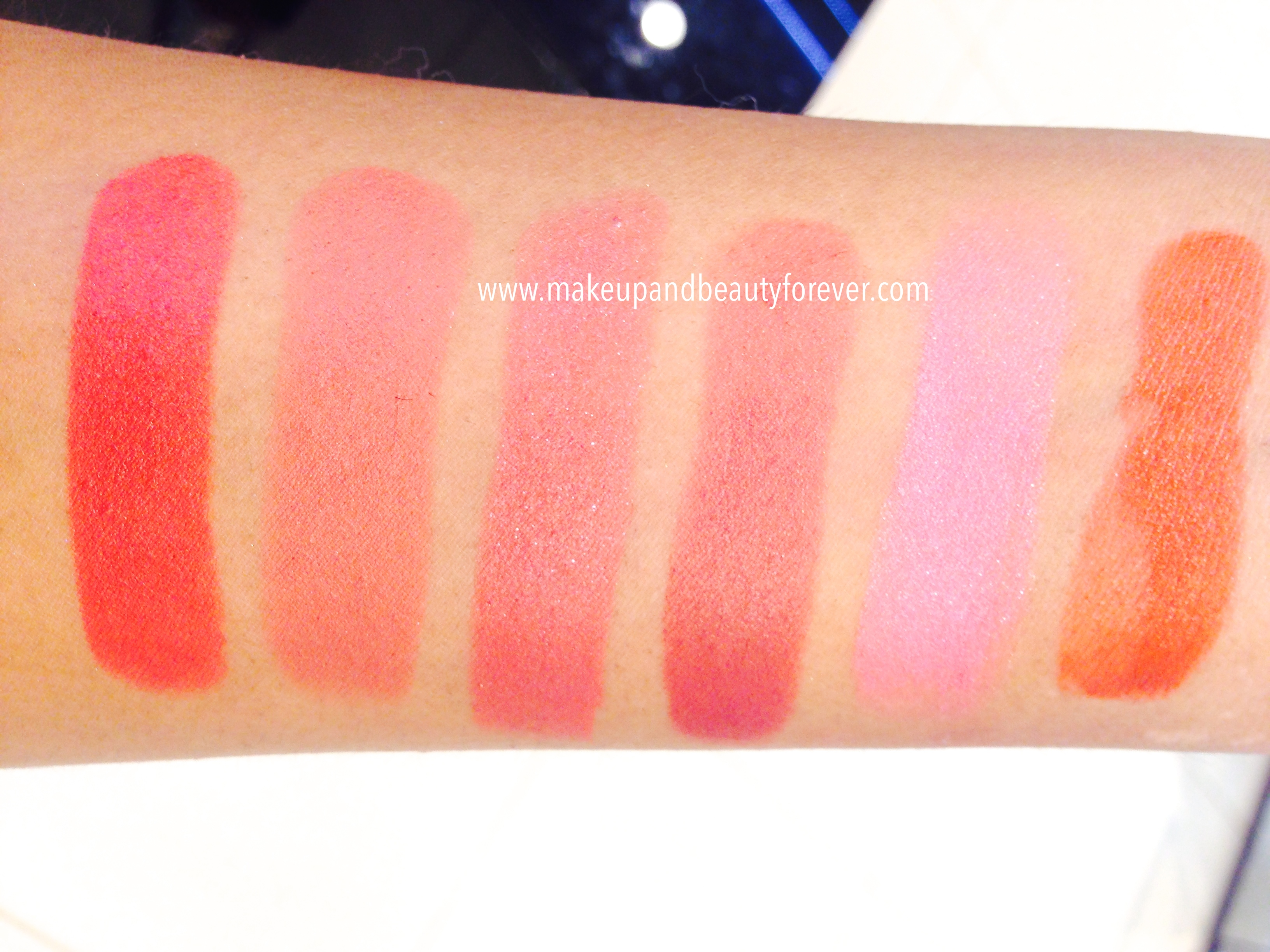 Lakme 9 To 5 Lipstick Rosy Sunday Red Chaos Rasphberry