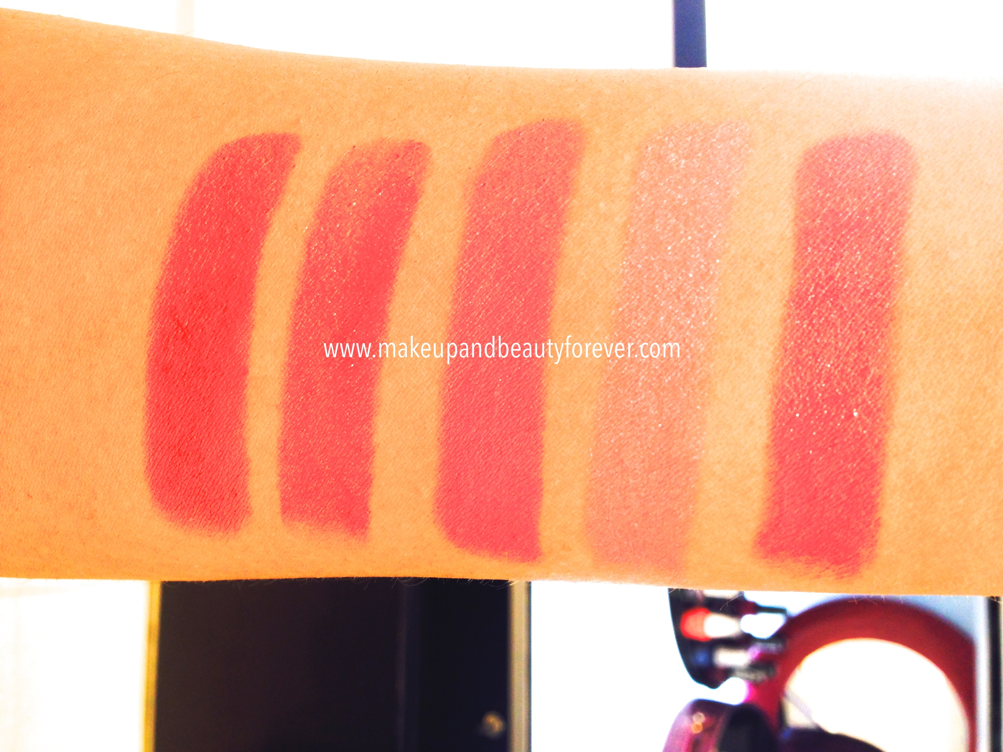 Lakme Absolute Creme Lipcolor Review, Shades Swatches ...