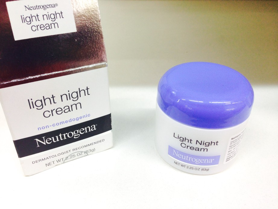 Neutrogena Light Night Cream Review