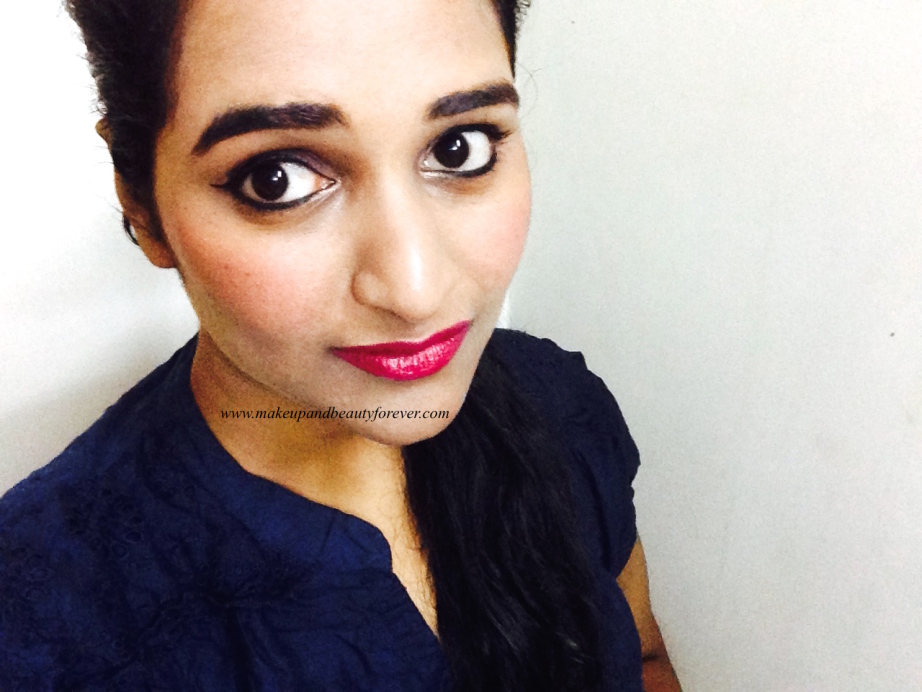 maybelline color show lipstick review midnight pink