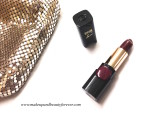 L'Oreal Color Riche Pure Reds Star Collection Pure Garnet Lipstick Review Swatch LOTD FOTD