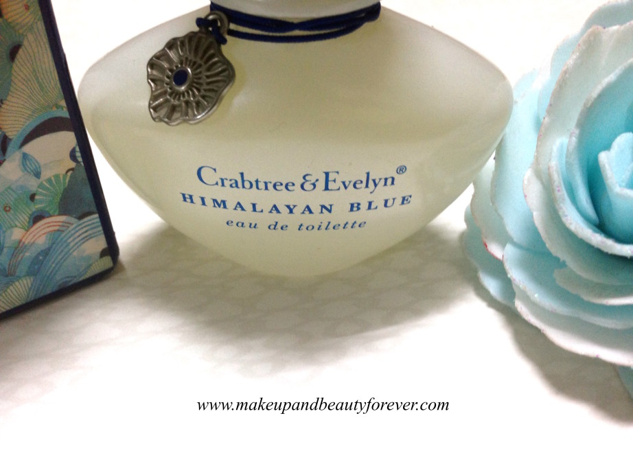 Crabtree & Evelyn Himalayan Blue Eau De Toilette EDT Review