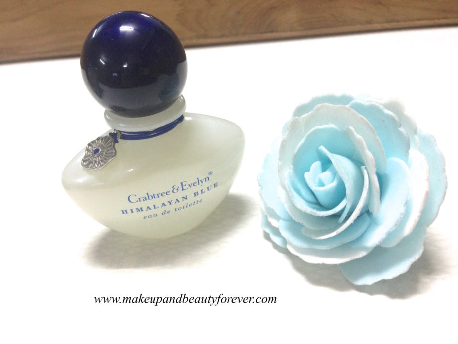 Crabtree & Evelyn Himalayan Blue Eau De Toilette EDT perfume Review