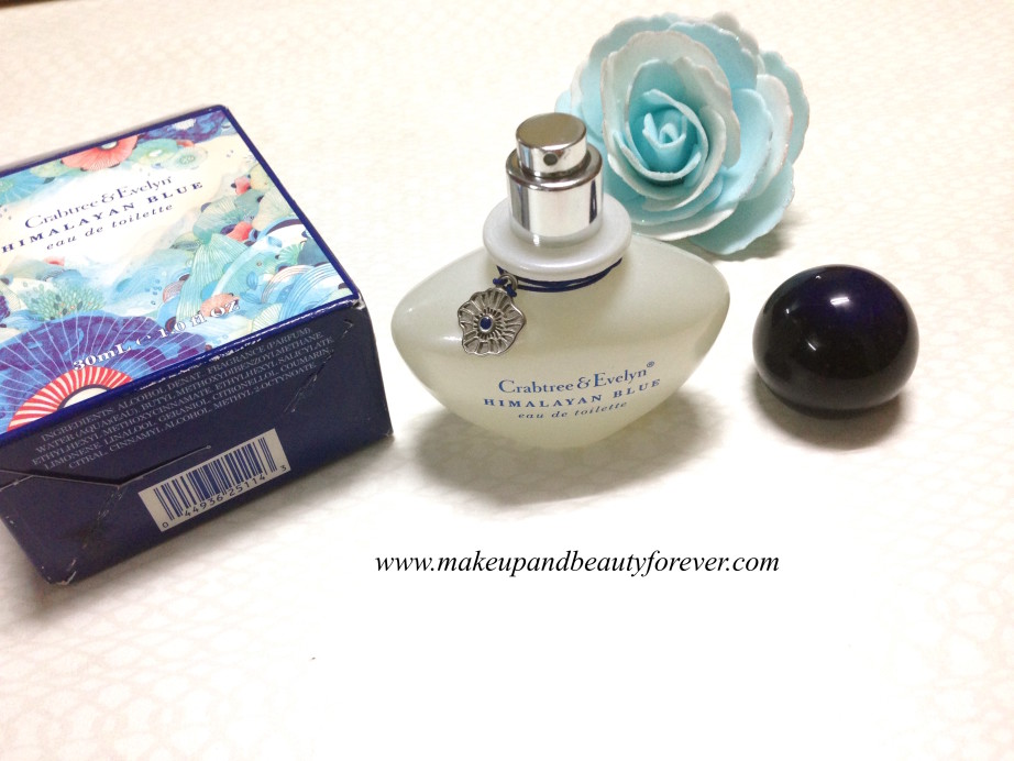Crabtree & Evelyn Himalayan Blue Eau De Toilette Review India