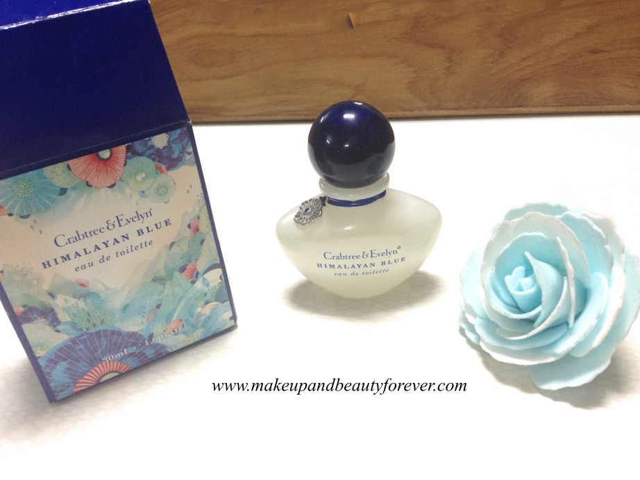 Crabtree & Evelyn Himalayan Blue Eau De Toilette perfume Review