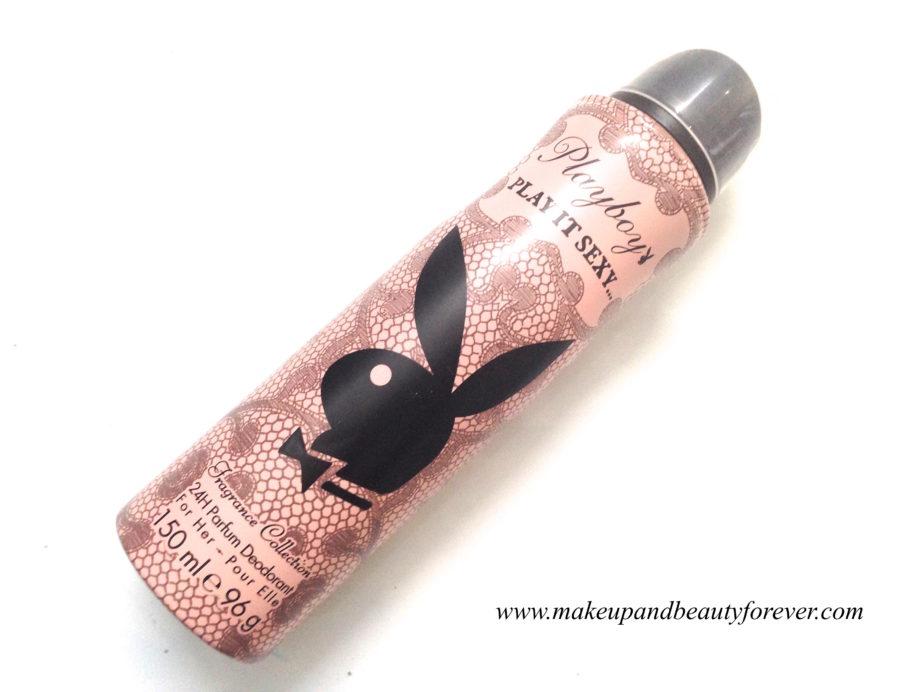 Playboy Play it Sexy Deodorant Spray For Women Review