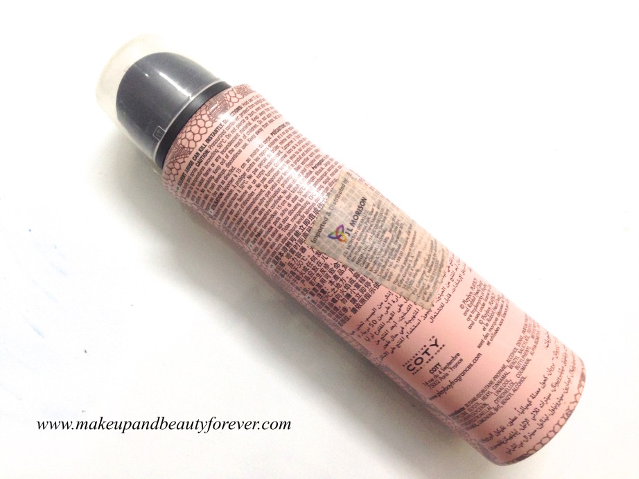 Playboy Play it Sexy Deodorant Spray For Women Review MBF India