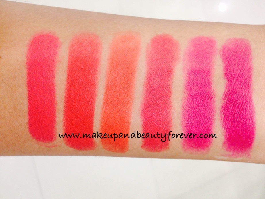 Matte lipstick online lakme