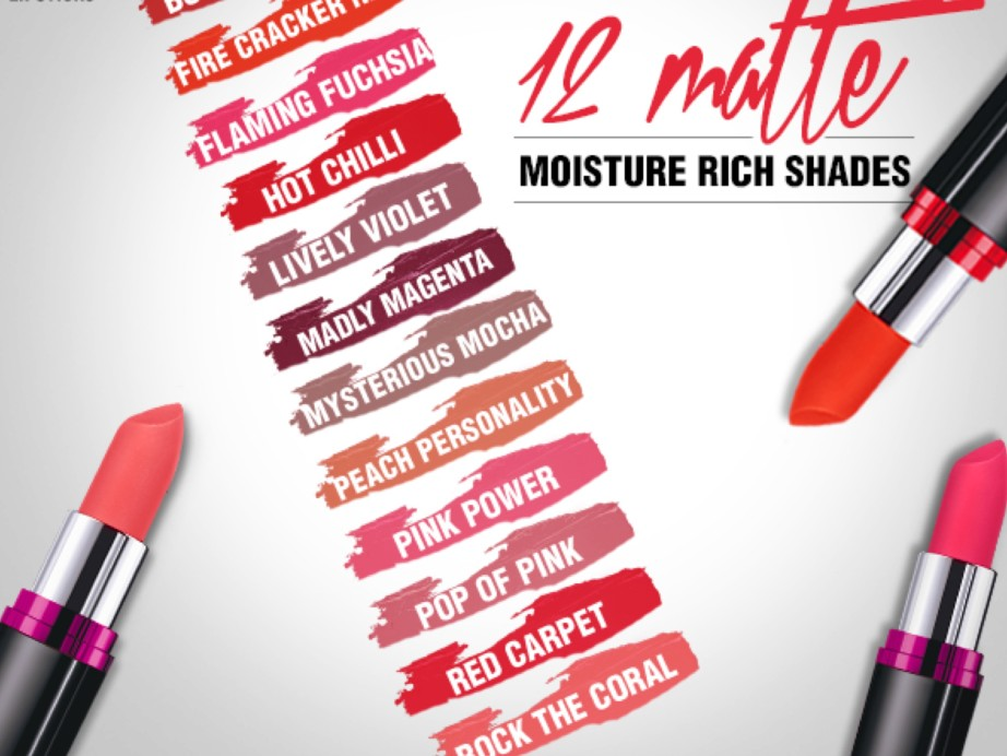 All Maybelline Color Show Matte Lipstick Review Shades