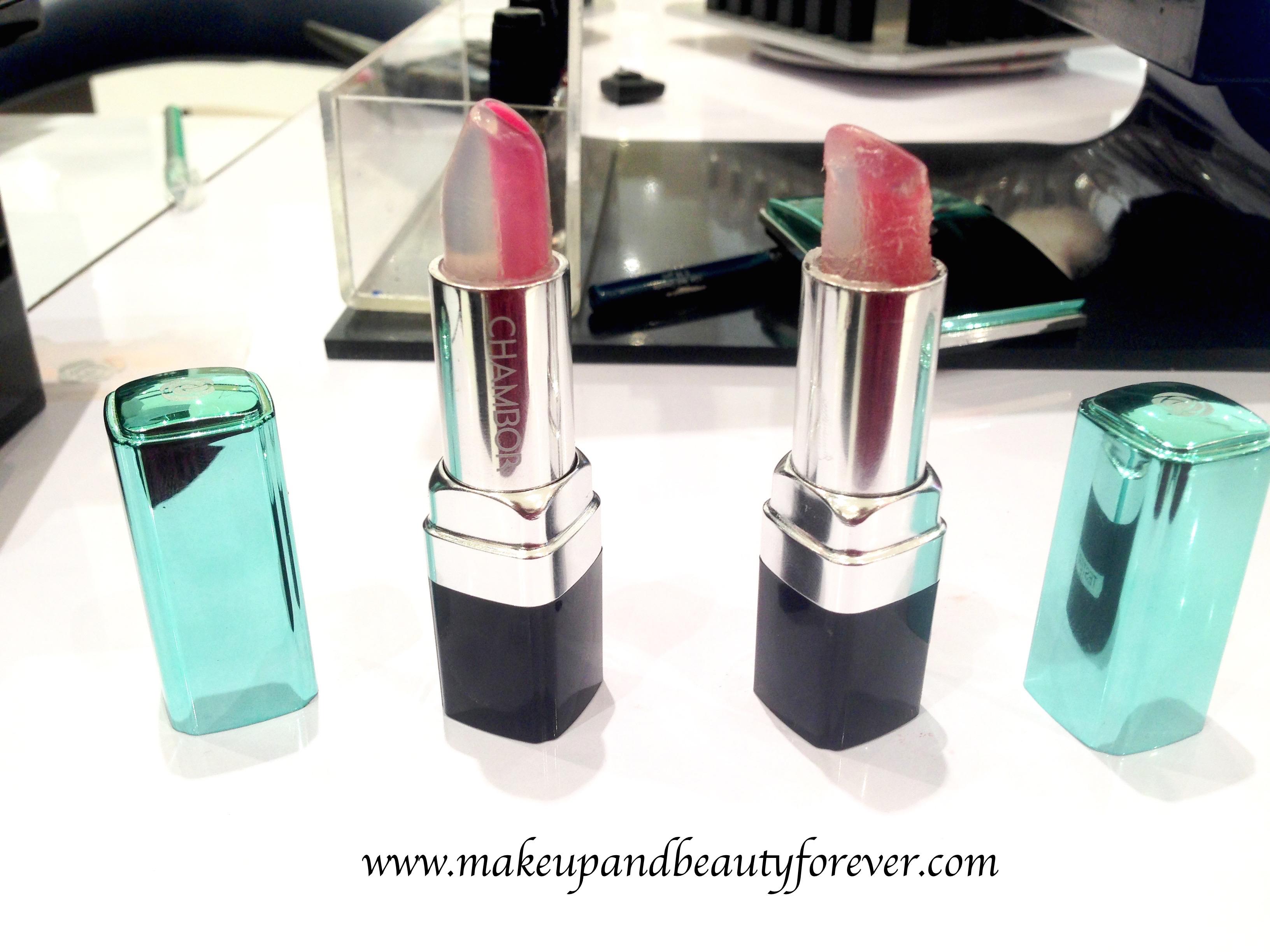 Chambor Happy Hues Moisture Plus Lipstick Ocean Roses Ice ...