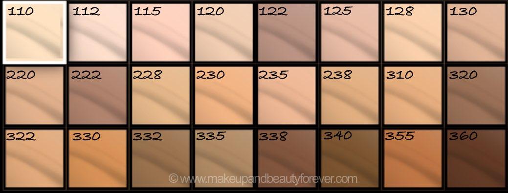 Makeup forever concealer shades