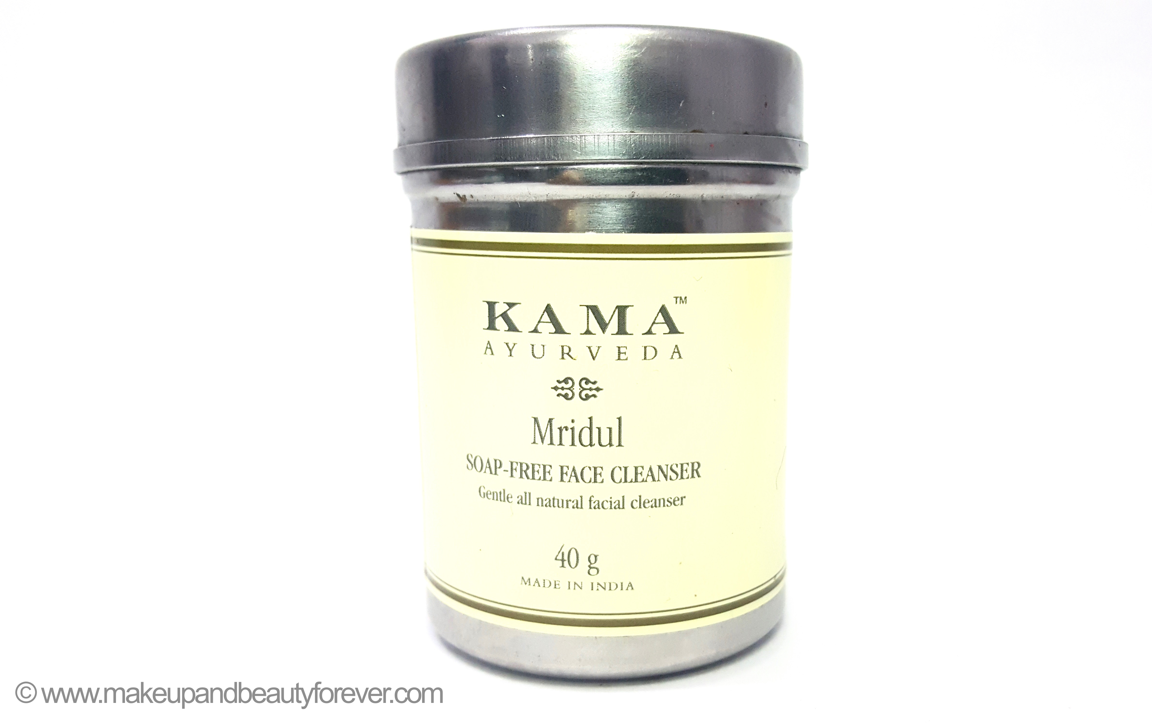 Kama Ayurveda Mridul Soap Free Face Cleanser Review
