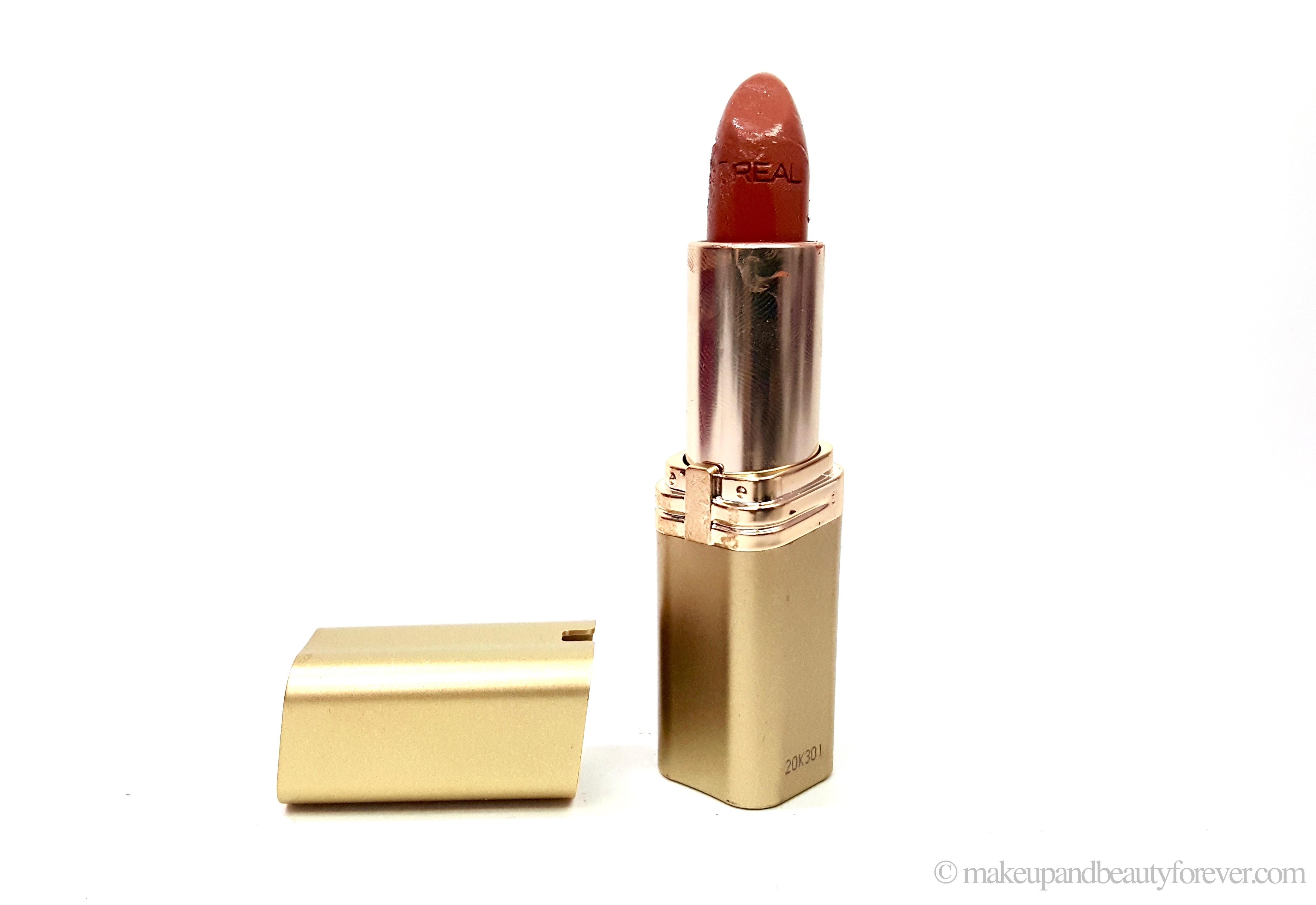 L'Oreal Color Riche Lipstick 840 Nature's Blush Review, Swatches