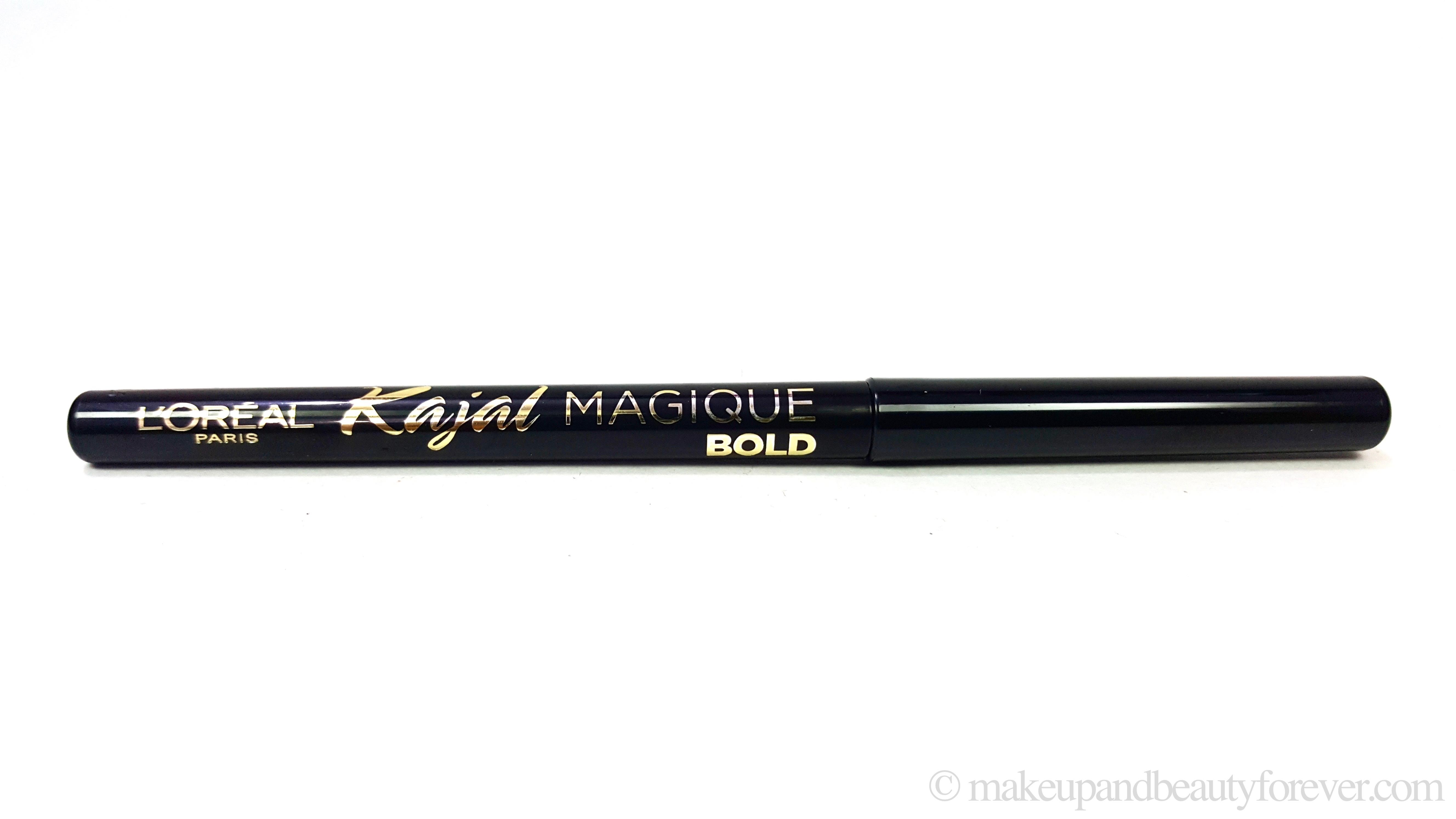L Oreal Paris Kajal Magique Bold Review Swatches Makeup
