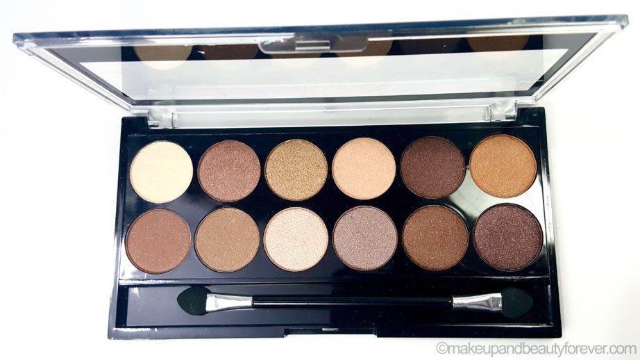 MUA Heaven and Earth Palette Review Swatches Beauty Blog