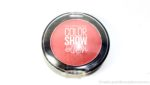 Maybelline Color Show Blush Fresh Coral Review, Swatches