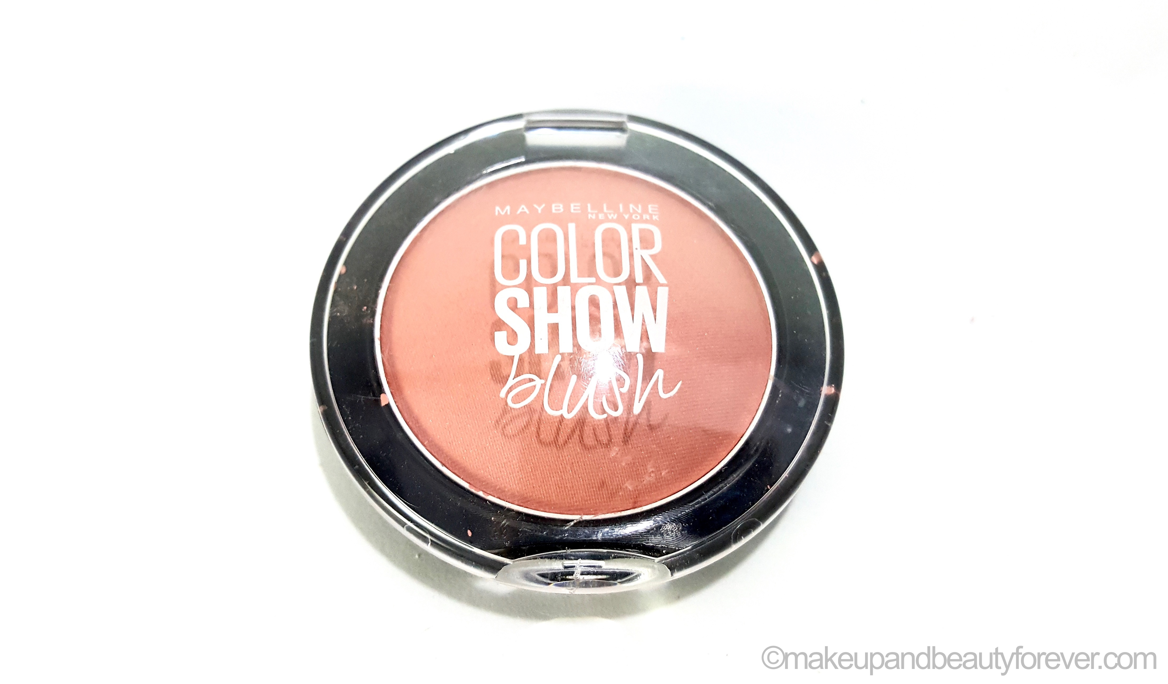 maybelline color show blush creamy cinnamon review swatches. Black Bedroom Furniture Sets. Home Design Ideas