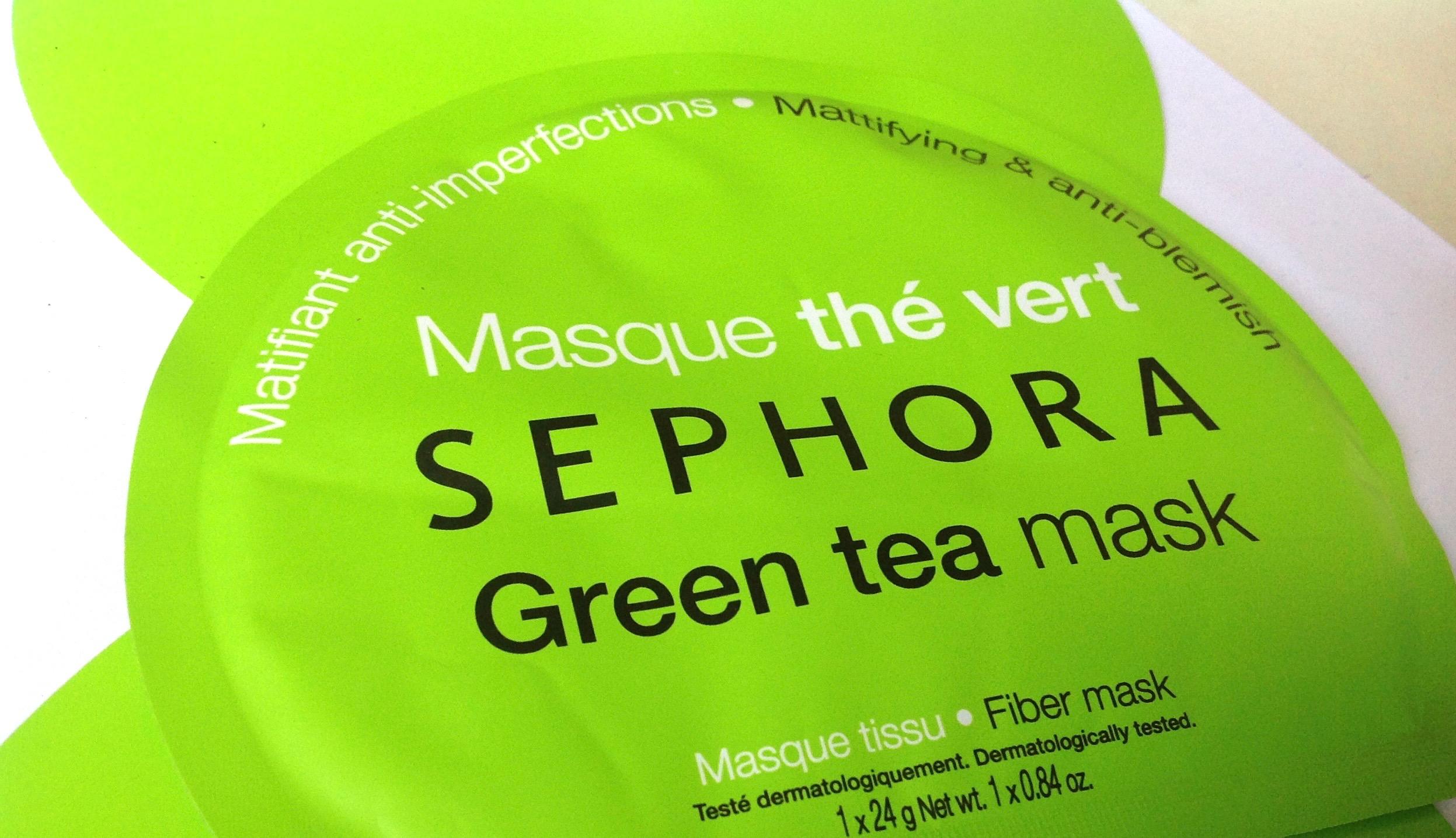 Sephora Green Tea Sheet Mask Review