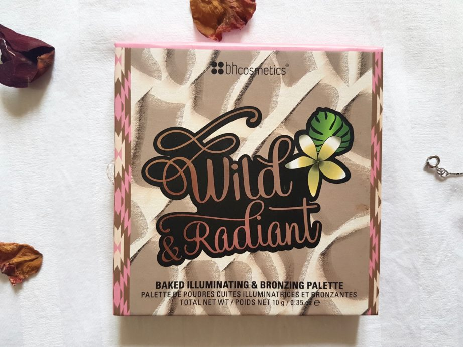 Bh Cosmetics Wild and Radiant Baked Illuminating and Bronzing Palette Review Swatches