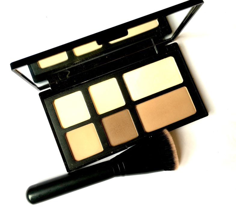 Freedom Pro Strobe Highlight and Contour Palette With Brush Review Swatches