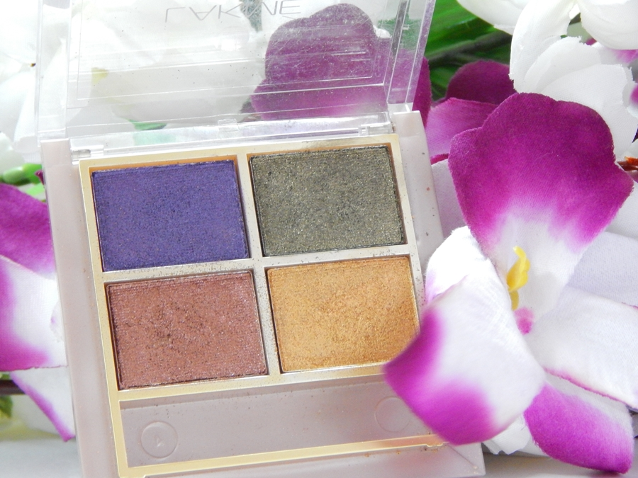 Lakme 9 to 5 Eye Quartet Eyeshadow Palette Tanjore Rush Review Swatches mbf blog