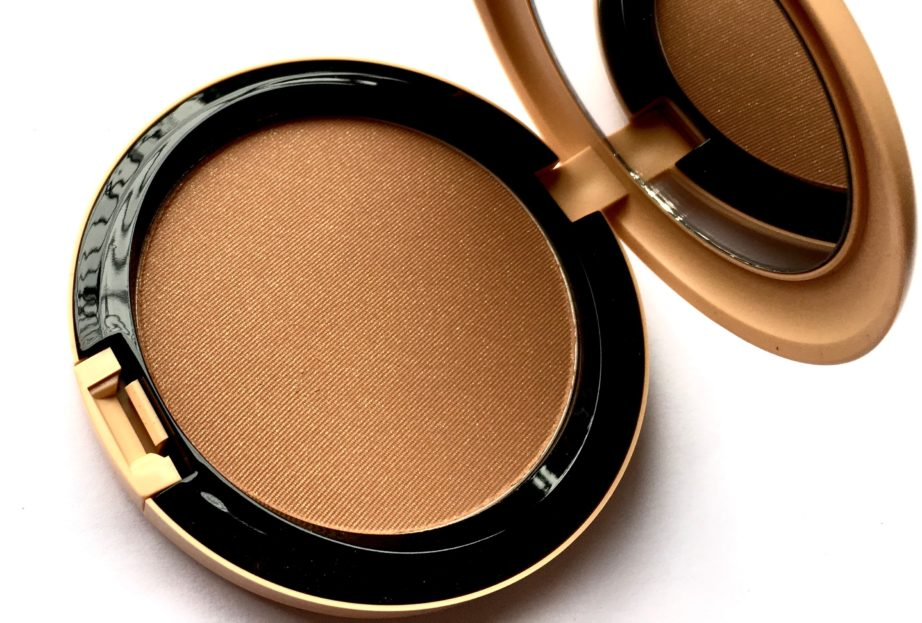MAC Vibe Tribe Bronzing Powder Refined Golden Review Swatches