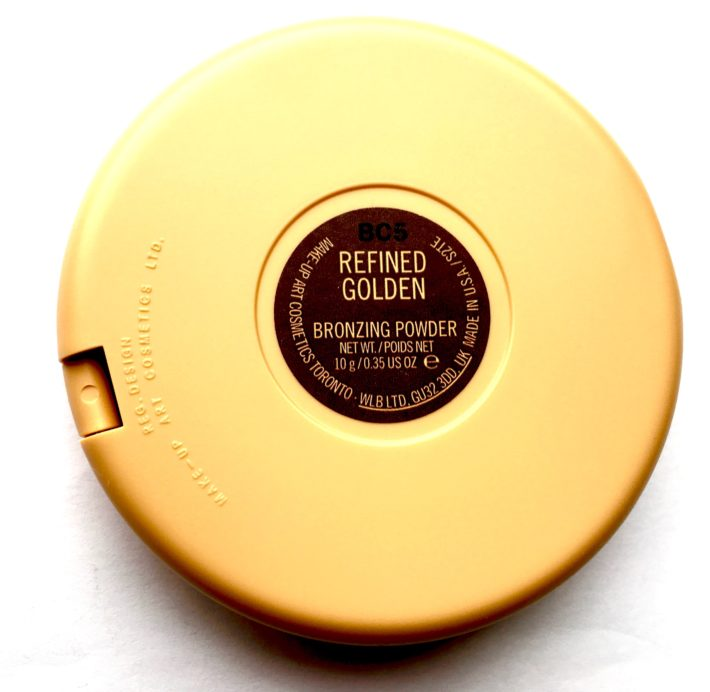 MAC Vibe Tribe Collection Bronzing Powder Refined Golden Review Swatch