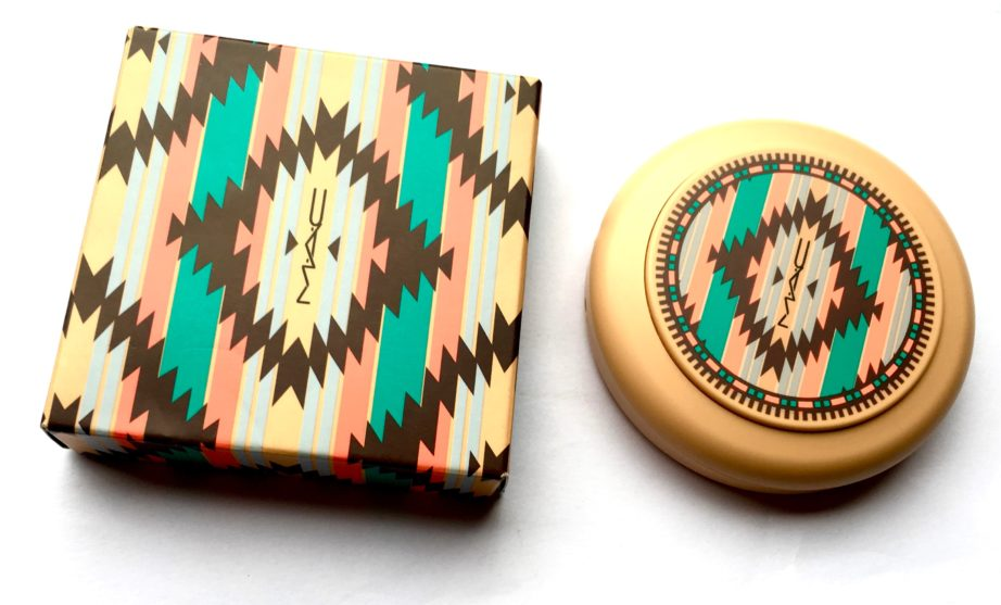 MAC Vibe Tribe Collection Bronzing Powder Refined Golden Review Swatches