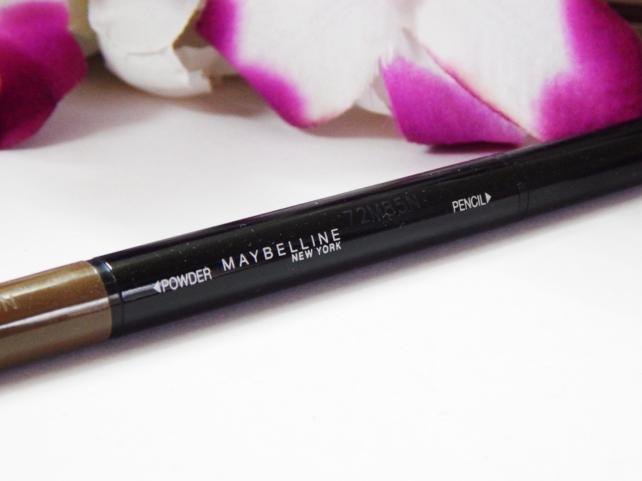 Maybelline Fashion Brow Duo Shaper Brown Review mbf blog