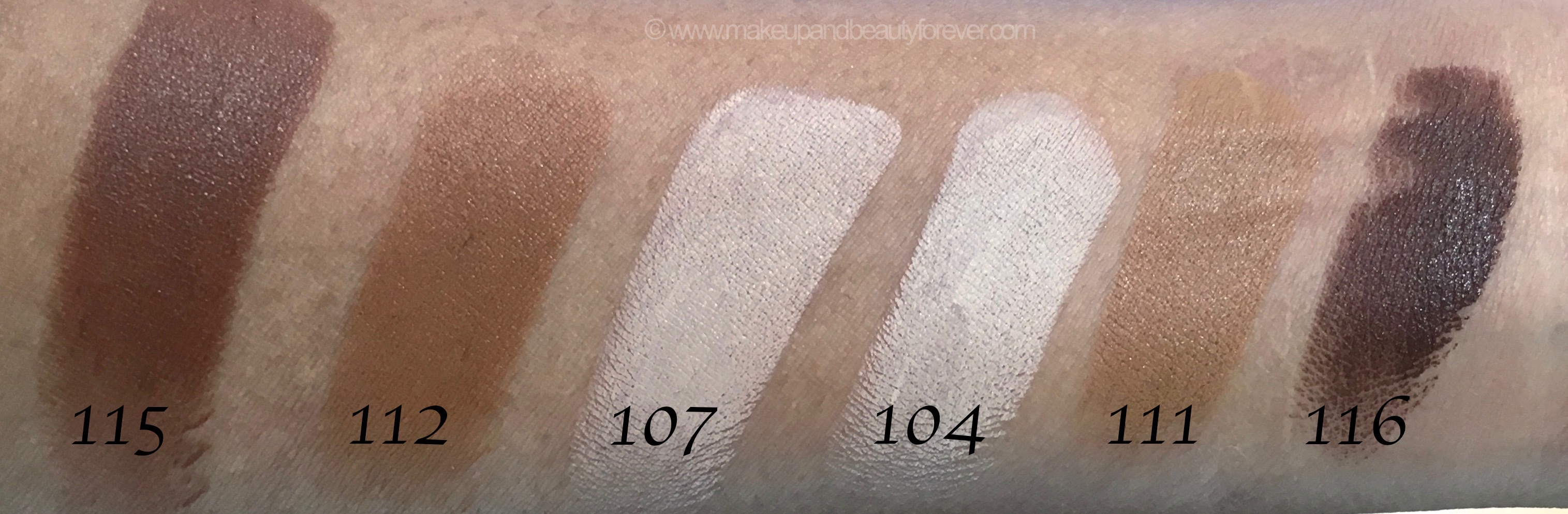 all inglot stick foundation shades review swatches 115 112