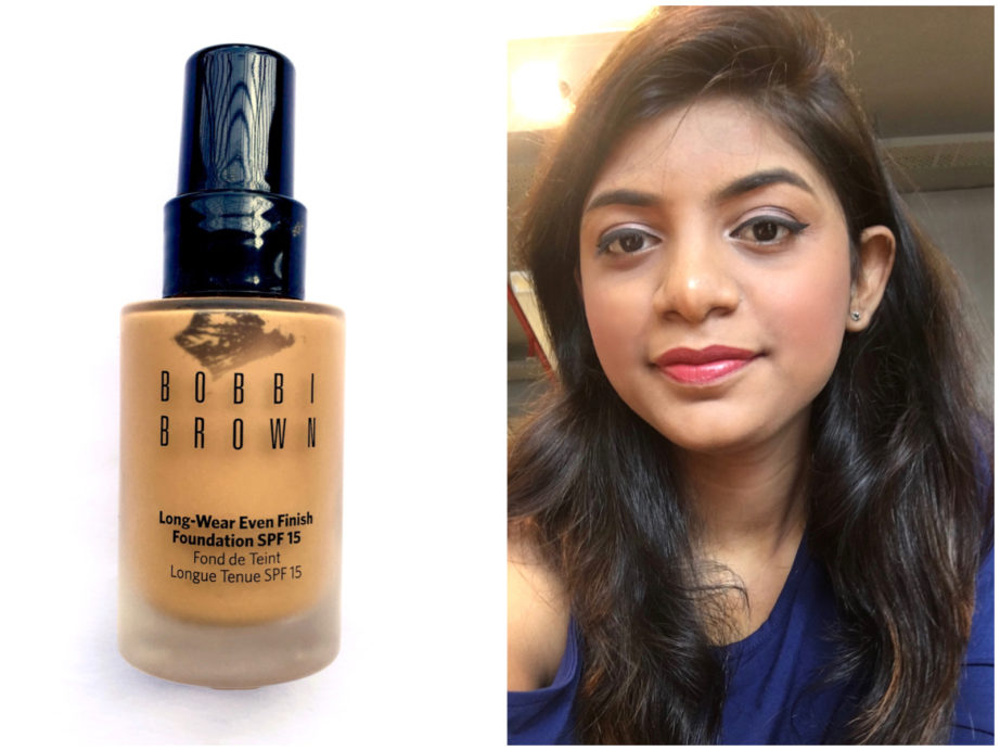 Bobbi Brown Long Wear Even Finish Foundation Spf 15 Review Swatches Makeup Look