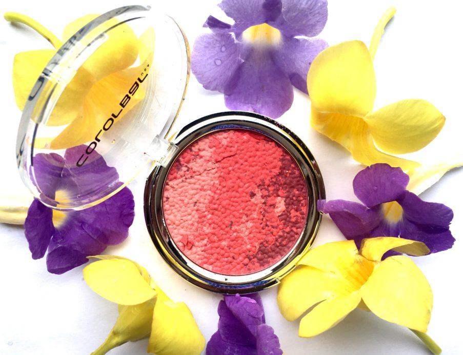 Colorbar Luminous Rouge Blush Luminous Rose Review Swatch