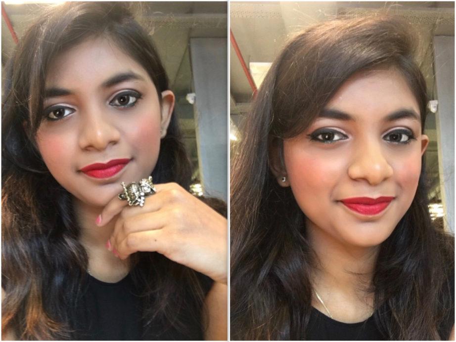Colorbar Luminous Rouge Blush Luminous Rose Review Swatches Pooja Mbf