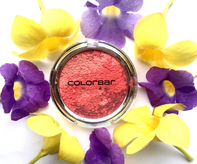 Colorbar Luminous Rouge Blush Luminous Rose Review Swatches beauty blog