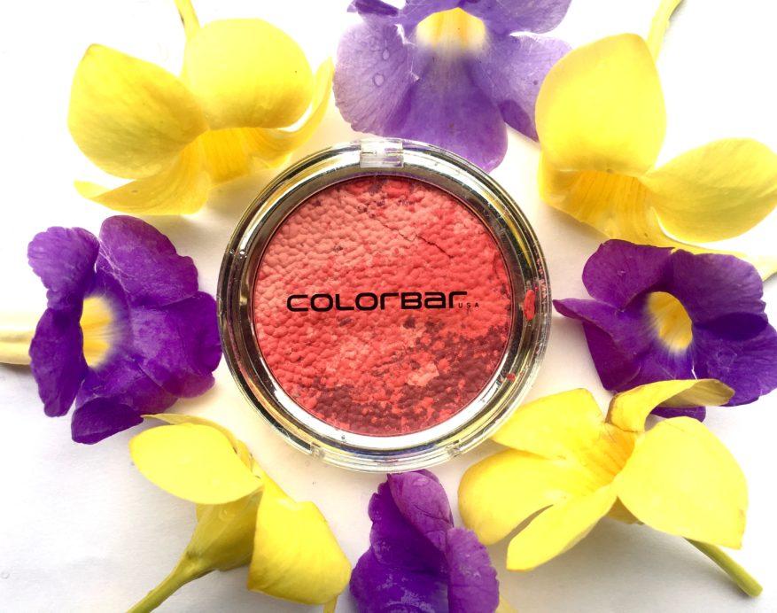 Colorbar Luminous Rouge Blush Luminous Rose Review Swatches mbf blog